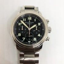 Blancpain Léman Fly-Back 2185F-1130-71 Very good Steel 38mm Automatic South Africa, Cape Town