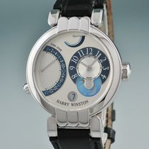 Harry Winston White gold 37mm Manual winding 200MMTZ39W pre-owned