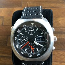 Sinn 140 Steel 44mm Black No numerals