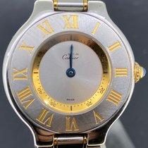 Cartier 21 Must de Cartier Steel 28mm Silver Roman numerals