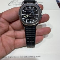 Patek Philippe Aquanaut Steel 38mm Black Arabic numerals United States of America, New York, New York