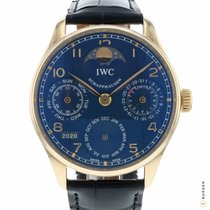 IWC Portuguese Perpetual Calendar IW5022-20 Very good Rose gold 42.3mm Automatic