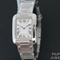 Cartier Tank Anglaise Staal 28mm Zilver Nederland, Maastricht