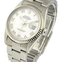 Rolex Used 16234_used_white_roman Mens DATEJUST with Oyster...