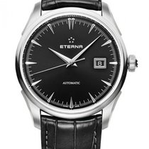 Eterna Steel 41.5mm Automatic 2950.41.40.1322 new