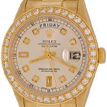 Rolex Day-Date 36 Yellow gold 35mm Silver No numerals United States of America, Texas, Dallas
