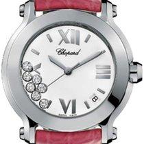 Chopard Happy Sport Round Quartz 36mm 278475-3001 Pink