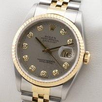 Rolex Datejust 16233 Sehr gut Gold/Stahl 36mm Automatik Deutschland, MÜNCHEN