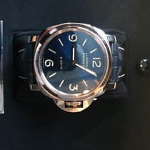 Panerai Red gold Automatic Blue Arabic numerals 44mm new