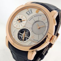 Harry Winston Midnight Rose gold 45mm Silver Arabic numerals United States of America, California, Los Angeles