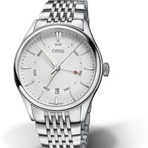 Oris Artelier Pointer Day Date new Automatic Watch with original box and original papers 01 755 7742 4051-07 8 21 79 ORIS POINTER Giorno- Data 40mm