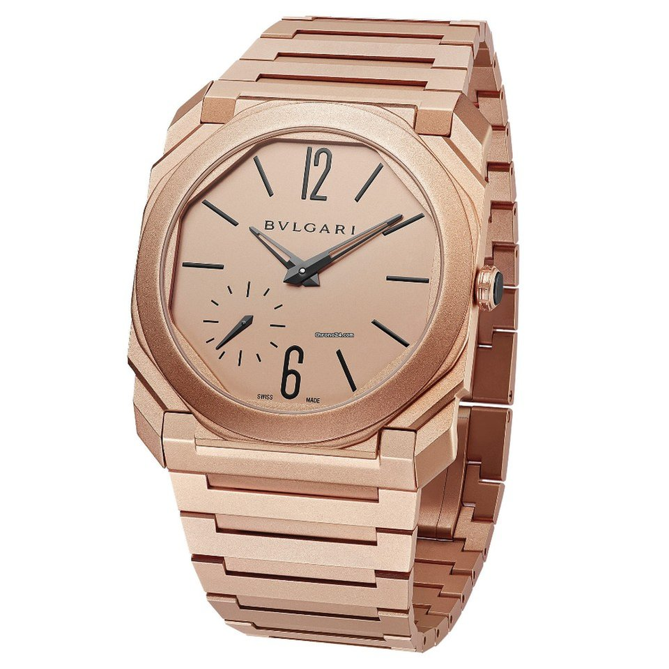 e3b1f133047 Bulgari Octo Rose gold - all prices for Bulgari Octo Rose gold watches on  Chrono24