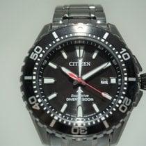 Citizen Promaster Marine Steel 45mm Black No numerals