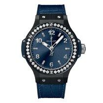 Hublot Big Bang 38 mm Ceramic 38mm Blue Arabic numerals United States of America, New York, New York