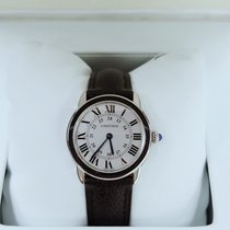Cartier new Quartz 29mm Steel Sapphire crystal