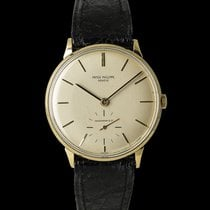 Patek Philippe Calatrava pre-owned 34mm Yellow gold