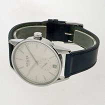 NOMOS Zürich Datum pre-owned 39,8mm White Date Leather