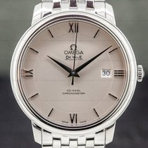 Omega De Ville Prestige Steel 39.5mm Silver Roman numerals United States of America, Massachusetts, Boston
