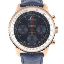 Breitling Montbrillant 01 Rose gold 40mm Blue