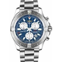 Breitling Colt Chronograph Steel 44mm Blue No numerals