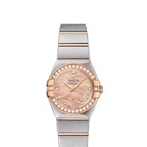 Omega Constellation Quartz 123.25.24.60.57.002 новые
