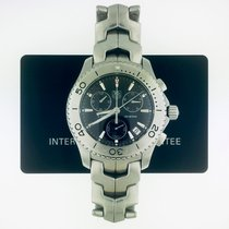 TAG Heuer Link Quartz Steel Black United States of America, New York, New York