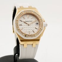 Audemars Piguet Royal Oak Offshore Lady Oro rosa 37mm Blanco Sin cifras