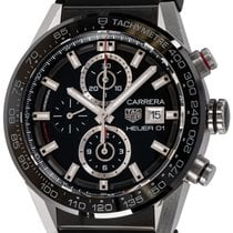 TAG Heuer Carrera Calibre HEUER 01 Steel 43mm Black United States of America, Texas, Austin
