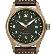 IWC Bronze Automatic Green 39mm new Pilot Mark