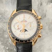 Omega Speedmaster Professional Moonwatch Moonphase neu 2019 Automatik Chronograph Uhr mit Original-Box und Original-Papieren 304.63.44.52.02.001