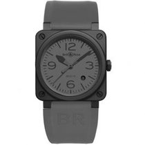 Bell & Ross BR 03-92 Ceramic new Automatic Watch with original box and original papers BR0392-COMMANDO-CE