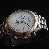Omega Speedmaster Gold/Steel 39mm White Roman numerals