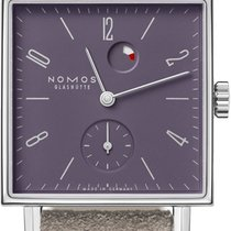 NOMOS Tetra Steel 29.5mm Purple United States of America, New York, Airmont