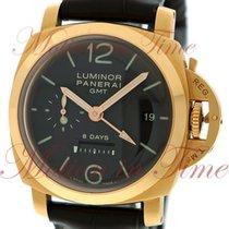 Panerai Luminor 1950 8 Days GMT Rose gold 44mm Brown Arabic numerals United States of America, New York, New York