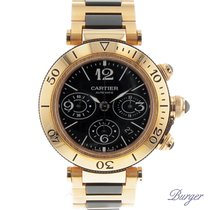 Cartier Pasha Seatimer Chrono Rose Gold