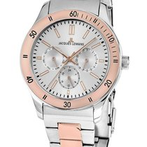 Jacques Lemans 1-1691ZI Rome Multifunktion Unisex 41mm 10ATM