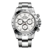 Rolex Daytona 116520 White Dial With Box & Papers New Old...