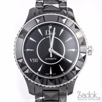 Dior VIII Black Ceramic Stainless Steel Automatic Ladies'...