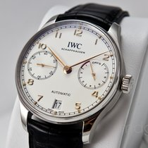 IWC Portuguese Automatic 8 Day - IWC Factory Warranty