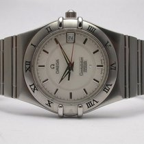 Omega Constellation Perpetual Calendar 1551 861 Stainless...
