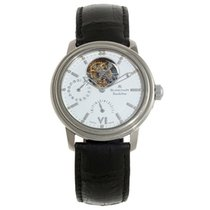 Blancpain Léman Tourbillon White gold 38mm White