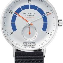 NOMOS Autobahn Steel 41mm White Arabic numerals