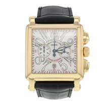 Franck Muller Conquistador Cortez pre-owned 41mm Yellow gold