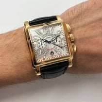 Franck Muller Conquistador Cortez Yellow gold 41mm Silver Arabic numerals United States of America, New York, NYC