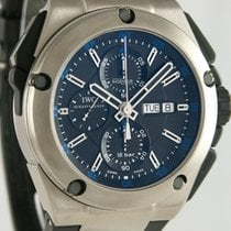 IWC Ingenieur Double Chronograph Titanium Titanium 46mm Black