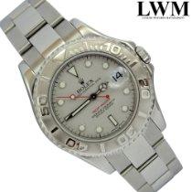 Rolex Yacht-Master 168622 Midsize Platinum dial Full Set