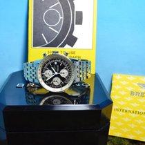 Breitling Old Navitimer Chronograph, Pilot Gold Stahl Armband,...