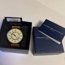 Tommy Hilfiger Steel 45mm Quartz 1791372 new