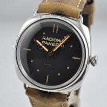 Panerai Radiomir 3 Days 47mm Steel 47mm Black No numerals