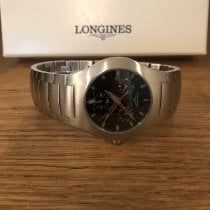Longines Oposition Steel 38mm Black